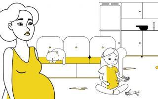 animatie, explanation, video, moeder, kind, mild intelletual disabillity