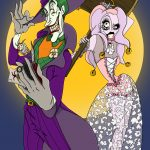 Joker, Harley Quinn, Marvel, Batman, villain, moonlight