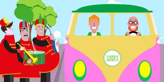 animatie, illustratie laten maken, muziek, vrolijk, carnaval, feest, karaoke, animatie laten maken