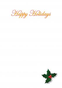kerstkaart, relatiegeschenken, kado's, geschenken, luxe kaarten, happy holidays