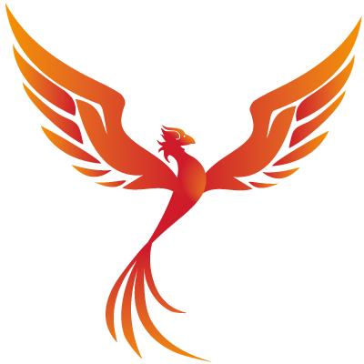 feniks, vuurvogel, rood, vogel,logo ontwerp, design, illustratie laten maken, illustraties, logodesign, The Artistry