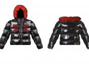 design, kleding, ontwerp, illustratie, illustratie laten maken, logo, merk, jas, pufferjacket
