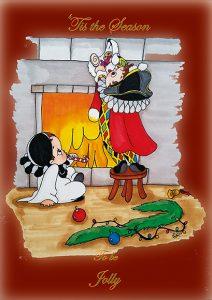 Bottega, Cadeauwinkel, Geschenken, Rotterdam, Kerstkaarten, kaarten, wenskaarten, geboortje, geschilderijen, in opdracht, uniek, kleurrijk, vogels, babies, baby, wenskaarten, relatiegeschenken, bruiloft relatie, The Artistry, Gifts, feestdagen, feest