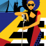 Art deco, Art illustraties, the artistry, poster, artwork, Rotterdam, Jazz, Songfestial Rotterdam, The artistry