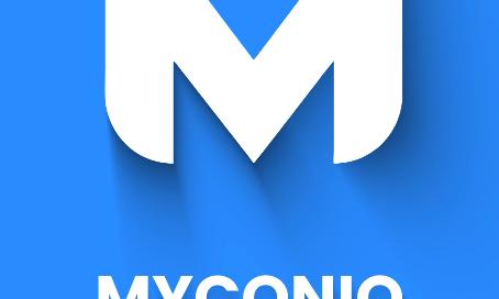 logo reveal myconiq